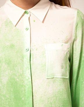 water print shirt