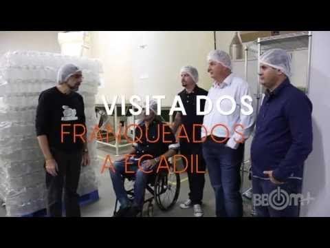 VISITA DOS FRANQUEADOS BBOM+ À ECADIL - BBOM PRODUTOS
