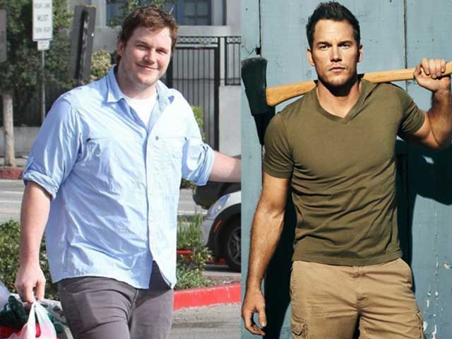A Before and After Look of Chris Pratt...