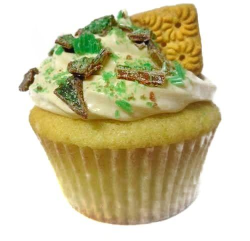 Peppermint Crisp Tart Cupcakes   JessKa's Kitchen