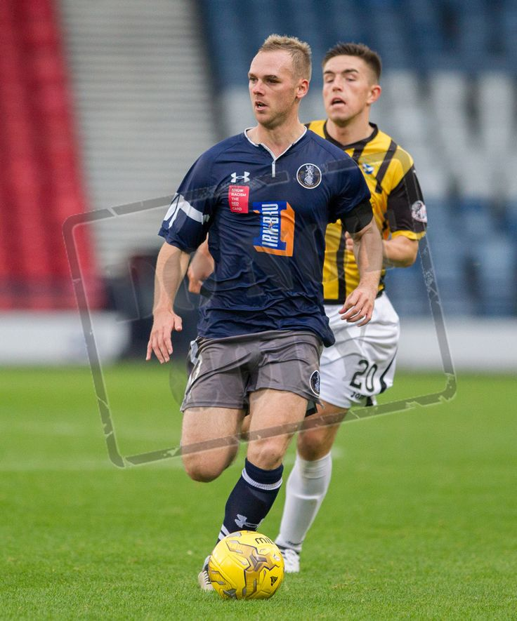 Queen's Park's Craig McLeish in action during the Ladbrokes League One game between Queen's Park and East Fife