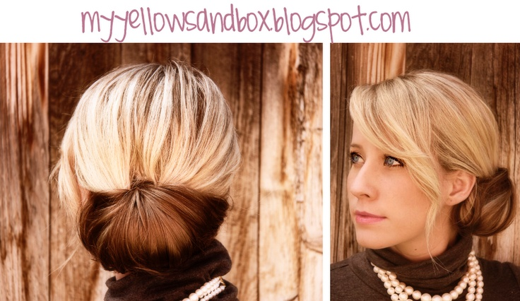 How to fashion the chignon.: Hair Ideas, Hairstyles, Chignons, Hair Styles, Makeup, Hairstyle Handbook, Beauty, Pretty