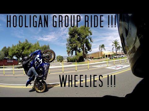 TRIUMPH SPEED TRIPLE 1050 GROUP HOOLIGAN RIDE | POWER WHEELIE MACHINE !!! - YouTube