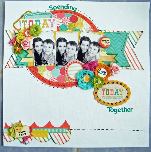 Playing with Sassy Scrapper August Skethc challenge http://sassyscrappers1.blogspot.com.au/2012/08/things-get-little-sketchy.html