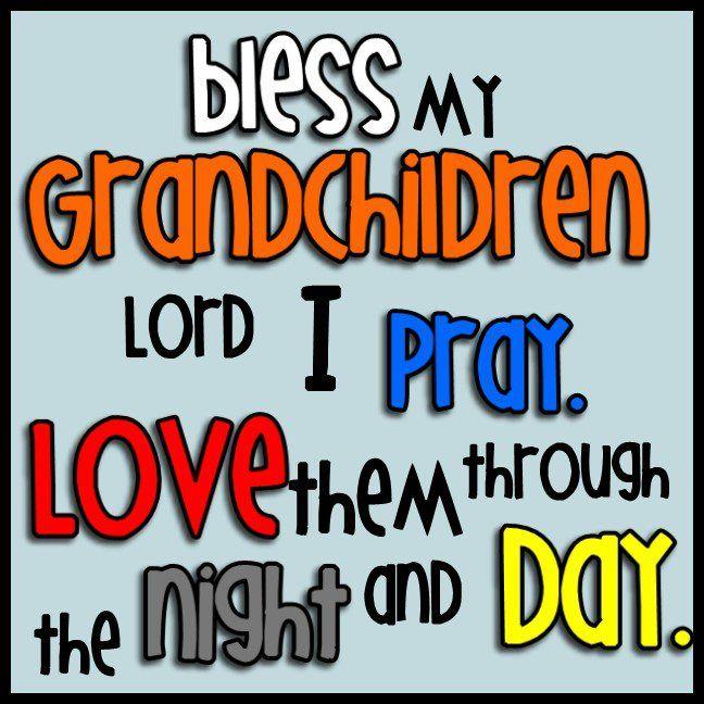 Prayer for Our Grandchildren!
