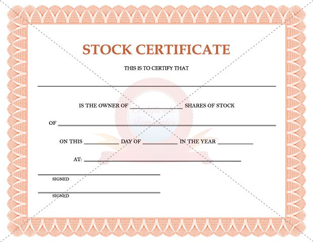 1000 images about Certificate Template – Certificate of Ownership Template