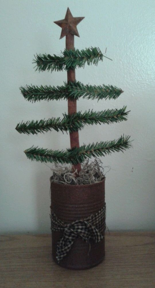 Primitive Christmas Tree #NaivePrimitive
