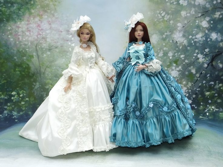 """Court Couture for Deja Vu 16""""Tonner doll and Poppy Parker from Integrity."""
