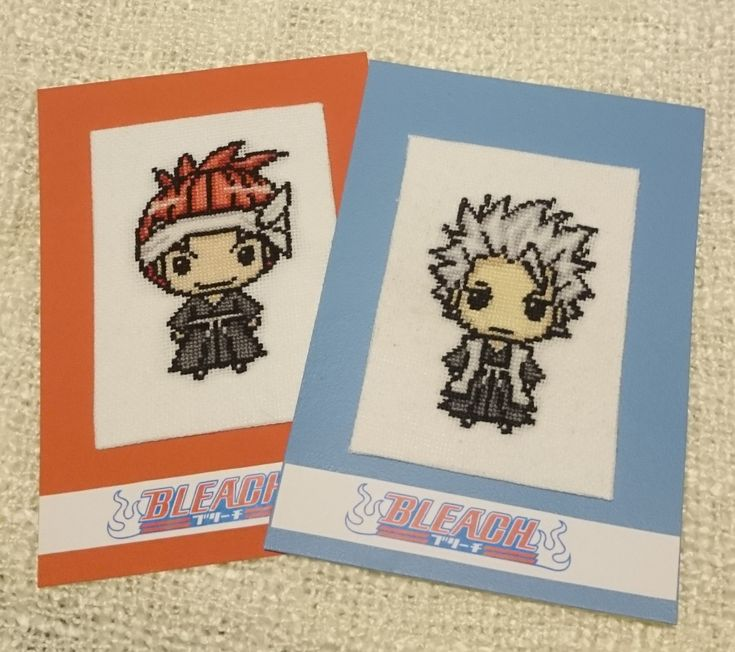 Renji Abarai i Toshiro Hitsugaya z anime Bleach