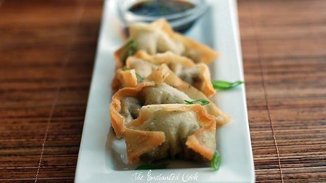 Yaki ManduWon Ton, Fries Won, Korean Fries, Yaki Mandu, Dips Sauces, Korean Cuisine, Enchanted Cooking, Mandu Korean, Dinner Tonight