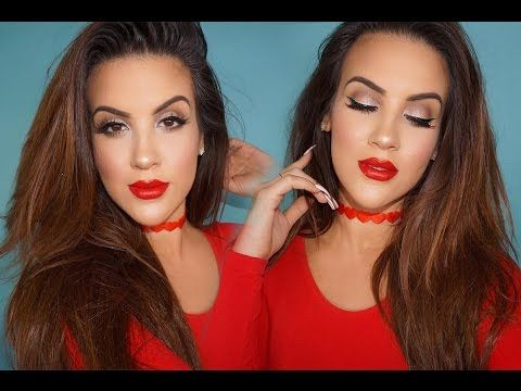 Drugstore Valentine's Day Look | LOTS OF NEW DRUGSTORE MAKEUP - YouTube