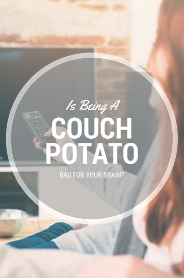 We all know how easy it is to come home after a long day and plop down for some quality time with Netflix. But we've got some bad news for couch potatoes.