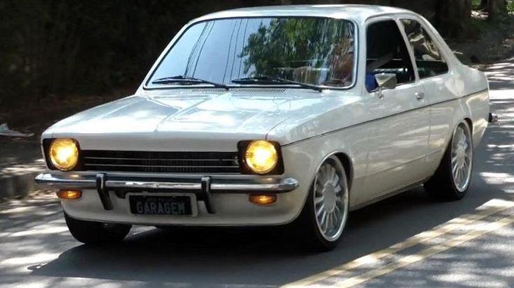 Chevrolet Chevette com motor turbo de Omega