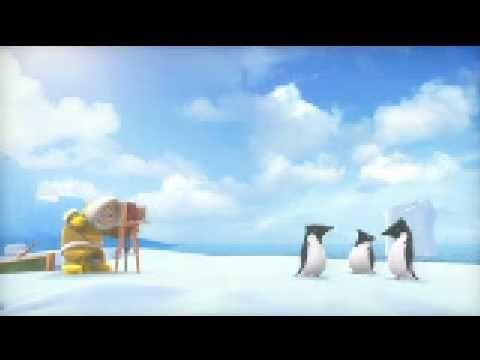 """Corto animado """"¿Los pinguinos vuelan?"""""""