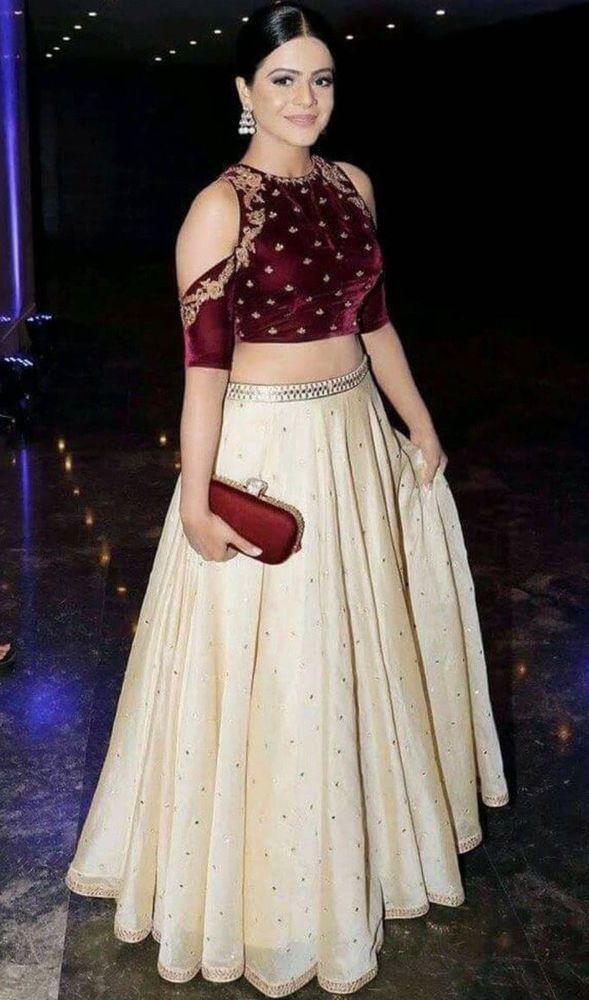 India Bridal Lehenga Choli Wedding Party Wear Designer