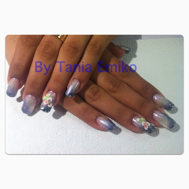 #nails #bytaniaemiko - nails DegradeNails Degrade, Nails Art, Nails Bytaniaemiko