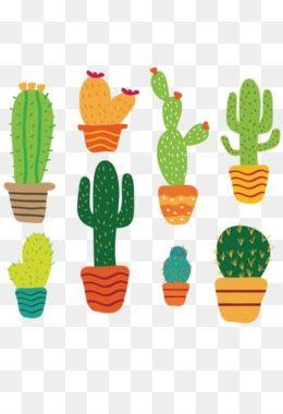 34 Gambar Tanaman Kaktus Kartun Di 2020 Kartun Kaktus Tanaman