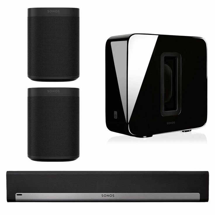 Sonos 5.1 Home Theater System  #sonos #home #theater