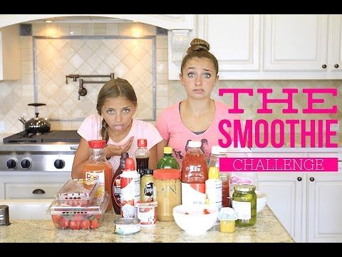 Smoothie Challenge..so gross!