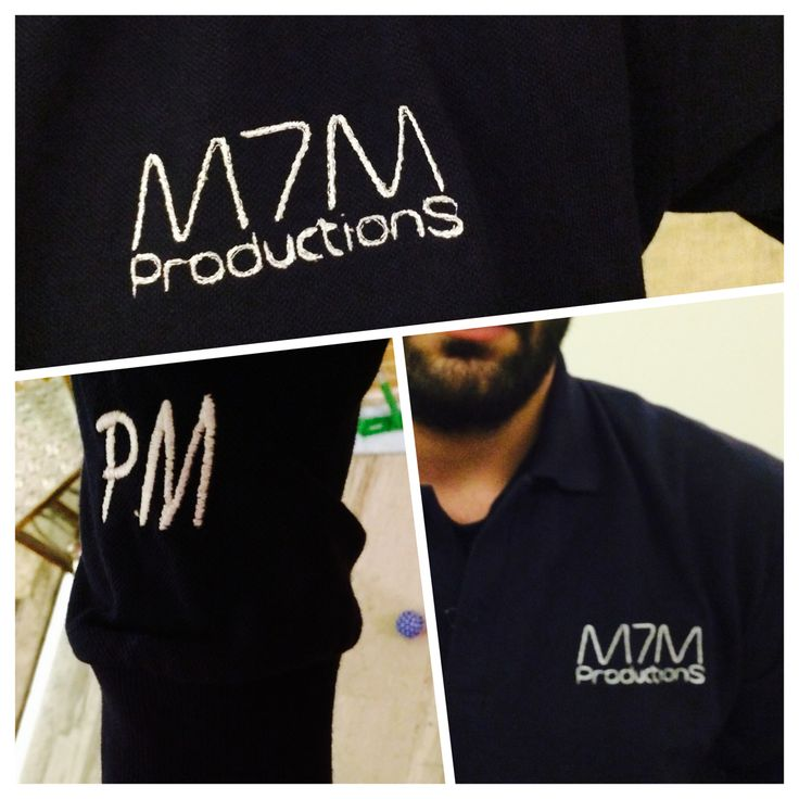 M7M Productions Polo Shirt...