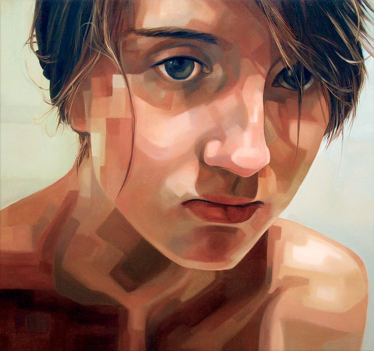 "Saatchi Online Artist: Sara Zin; Oil, 2009, Painting ""Sofia II"""