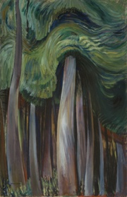 Emily Carr   Forest, 1931-1933  oil on canvas  118.2 x 76.1 cm  Collection of the Vancouver Art Gallery, Emily Carr Trust   Photo: Trevor Mills, Vancouver Art Gallery