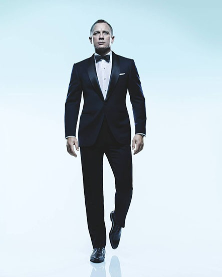 Photg:  Matthew RolstonGroomsmen, Daniel Craig, Bows Ties, Outfit, Dresses, James Bond, Suits, People, Man