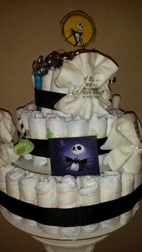 Nightmare Before Christmas Themed Shower