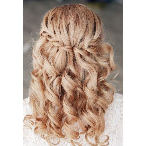15 Pretty Prom Hairstyles for 2015 Boho, Retro, Edgy Hair Styles... ❤ liked on Polyvore featuring hair, hairstyles and cabelo