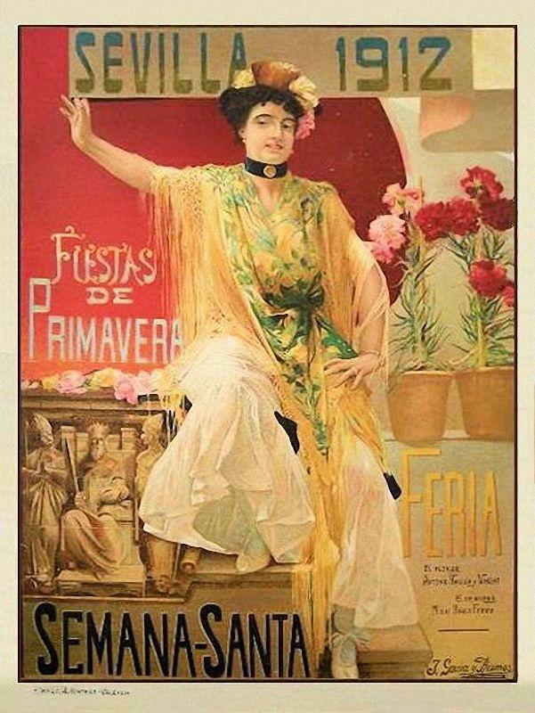 Sevilla. Fiestas de Primavera, 1912. José García Ramos