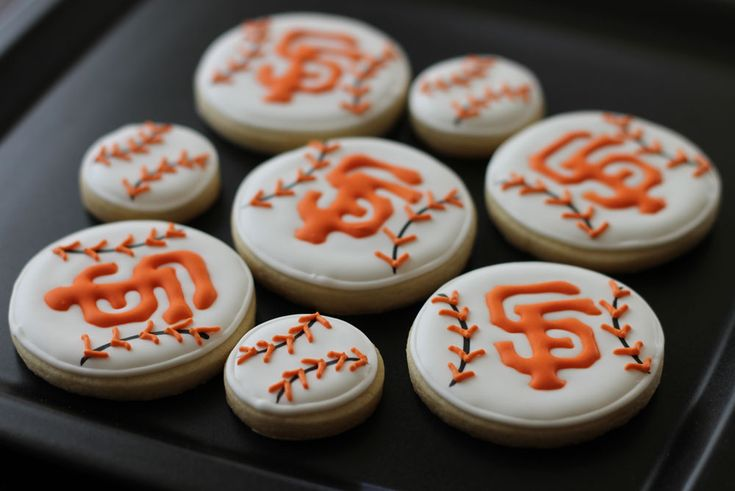 Make your own #SFGiants Sugar Cookies!