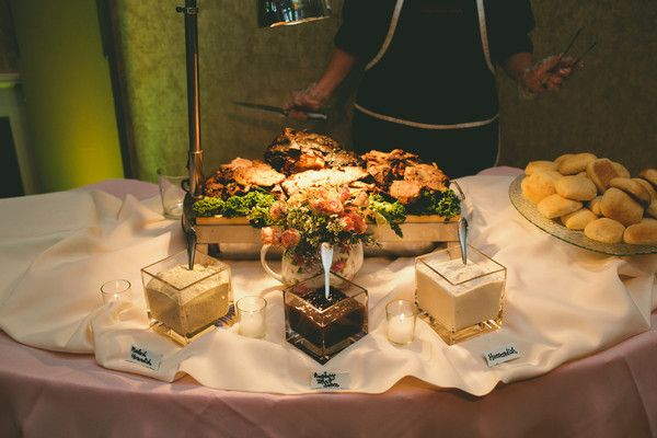Prime Rib Carving Station   Photo By: Lauren Tomasella Photography