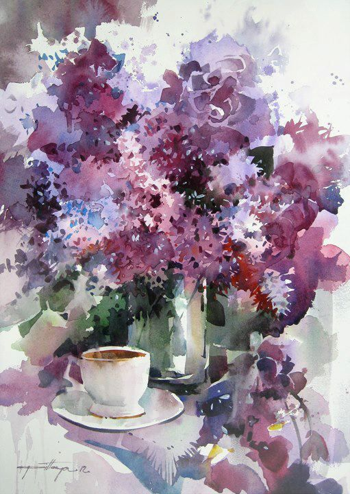 Art Of Watercolor: Some Floral...