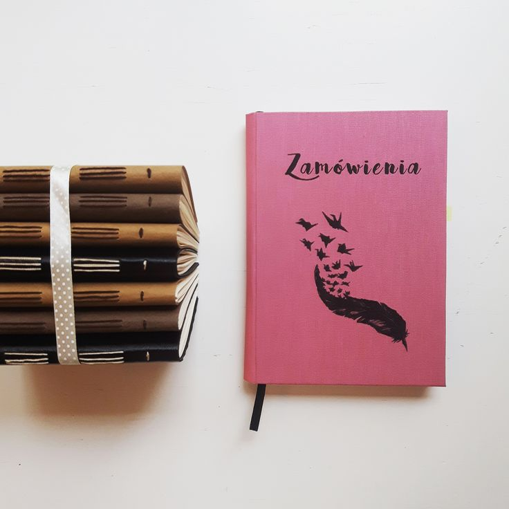 Orders notebook.