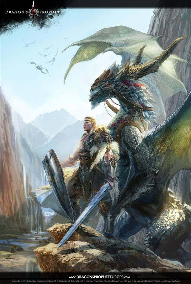 Art dragon fantasy hentai knight pegasus