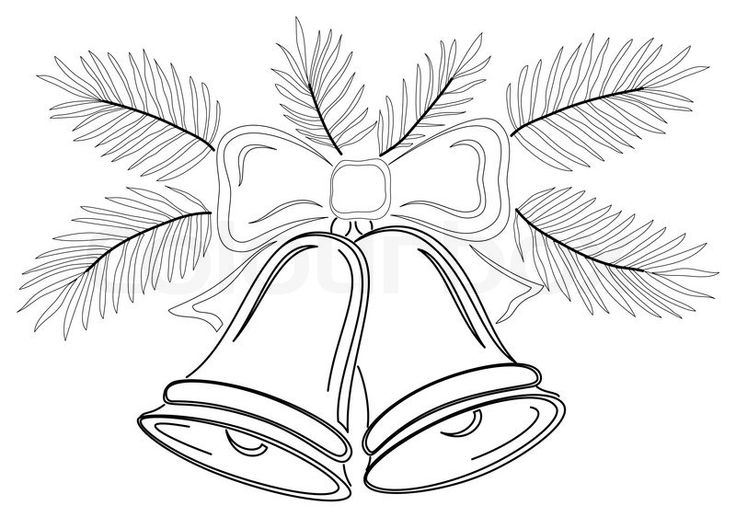 christmas tree pencil drawings   Stock image of 'Christmas decoration, symbolical pictogram ...