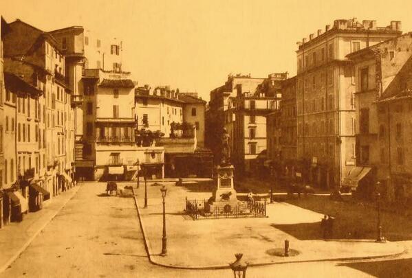 Campo de' Fiori, 1890
