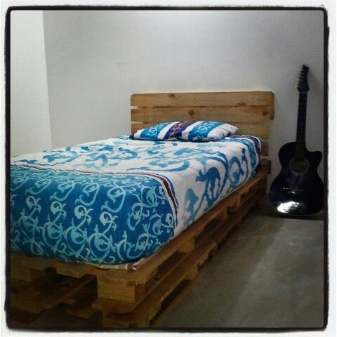 cama en estibas camaestibas pinterest