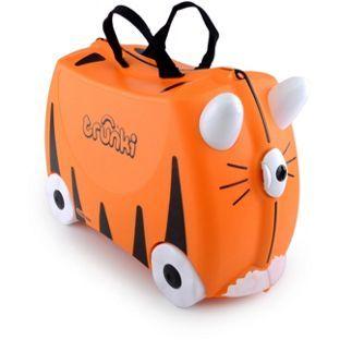 Buy Trunki Tipu Tiger Ride-On Suitcase - Black/Orange at Argos.co.uk, visit Argos.co.uk to shop online for Childrens luggage