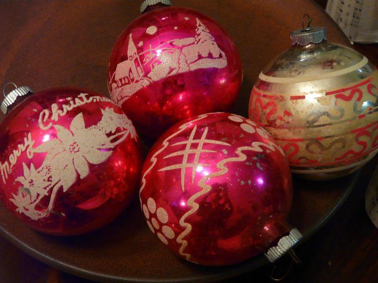 antique christmas decorations | Vintage Christmas Decorations Ideas