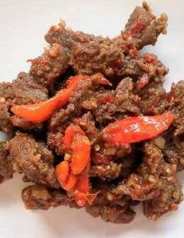 FRIED SPICY BEEF RECIPE