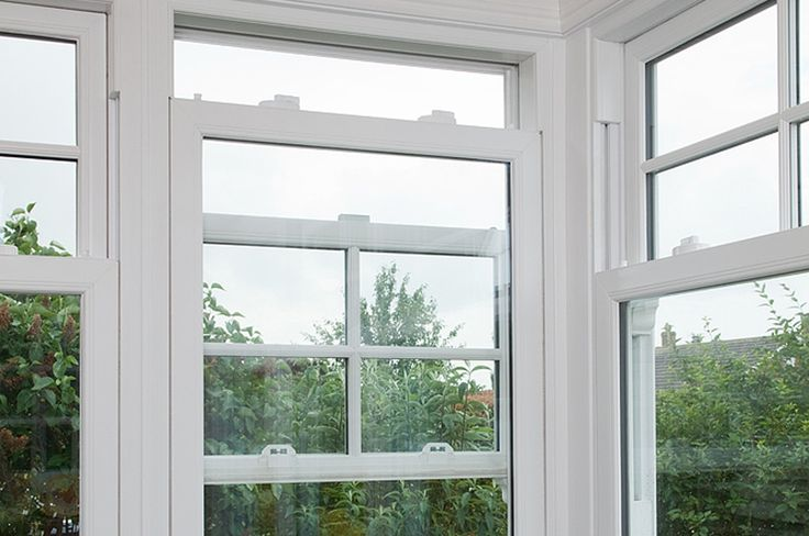 uPVC Sliding Sash Windows Gallery | Everest