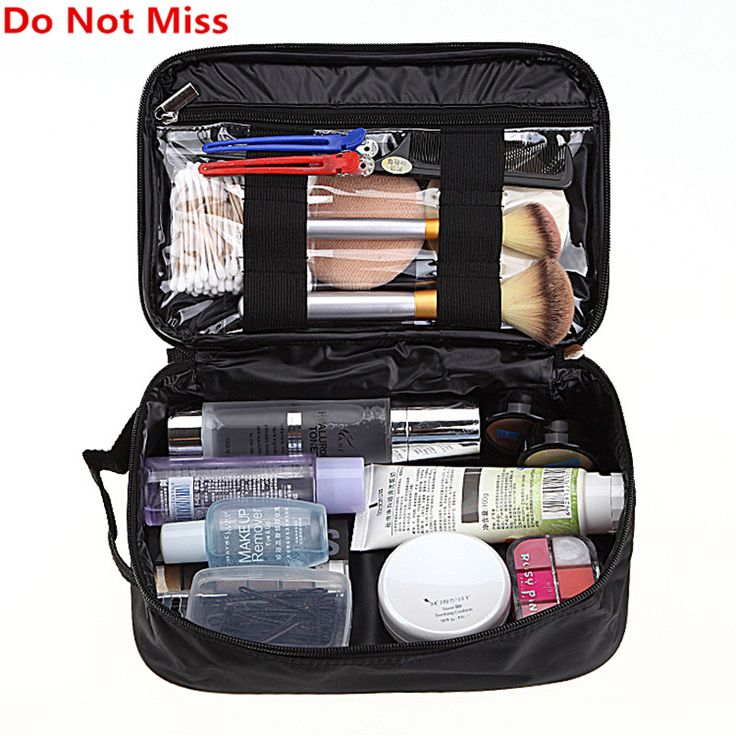 Do Not Miss women travel cosmetic bag for make up case professional makeup bag organizer makeup case beauty vanity toiletry kit