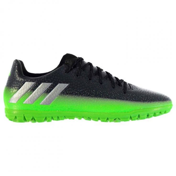 Adidas Messi 16.3 Mens Astro Turf Trainers (Dark Grey-Soul Green) #Sport #Football #Rugby #IceHockey