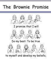 BSL Brownie Promise British Sign Language