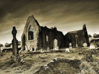 Jest klimat w Irlandii. Dominican Priory in Athenry, Ireland. #dominikanie #irlandia #klasztor #ruiny