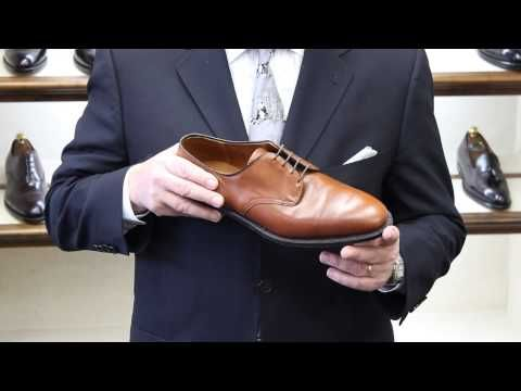 Joe Zapatka from #TheShoeMart shares information about the fitting properties and profile of the #Alden #Plaza Last.  www.TheShoeMart.com #AldenShoes