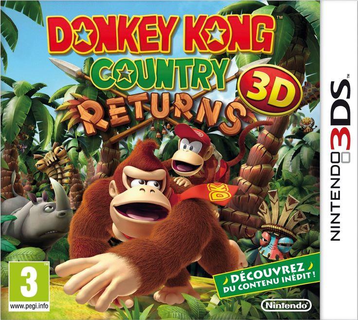 Donkey Kong Country Returns: Nintendo 3DS: Amazon.fr: Jeux vidéo