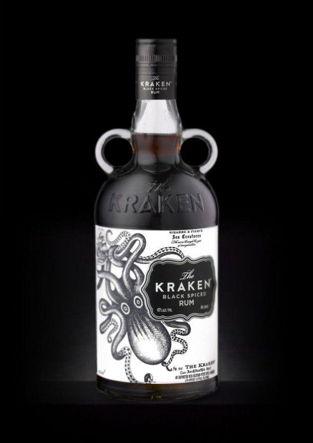 Kraken2 620x876 Kraken Rum, una joya de diseño