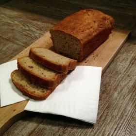 Bezlepkový chléb s česnekem